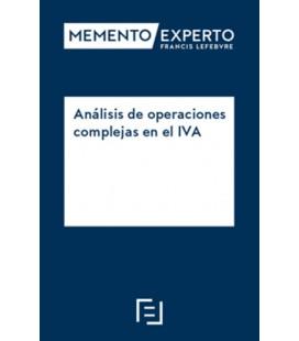 ANALISIS DE OPERACIONES COMPLEJAS EN EL IVA