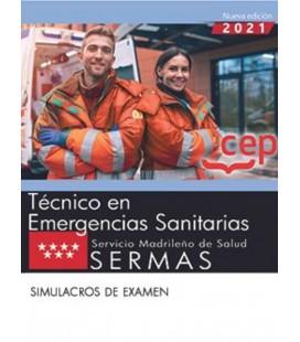 TECNICO EN EMERGENCIAS SANITARIAS SERMAS SIMULACROS DE EXAMENES