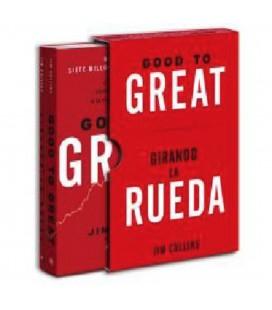 ESTUCHE GOOD TO GREAT + GIRANDO LA RUEDA