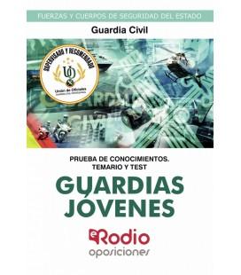 GUARDIAS JOVENES DE LA GUARDIA CIVIL. PRUEBA DE CONOCIMIENTOS. TEMARIO