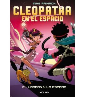CLEOPATRA EN EL ESPACIO 2. EL LADRON Y LA ESPADA